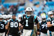 December 24, 2016: Carolina Panthers vs Atlanta Falcons. Cam Newton