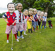 G8 leaders at Enniskilen golf course, Northern Ireland.  The tax deal proposed by the G8 is a step in the right direction for tackling hunger.<br /> It means that more tax authorities will be able to find out who owns so-called phantom firms (companies which operate as a front for other organisations as a way to siphon cash through tax havens) and crack down on tax dodging. However, poor countries haven't been included in this deal, so authorities in the developing world won't be able to access this information to claim back tax owed to them - funds which could have been spent dealing with hunger and malnutrition. This is disappointing, but transparency and tax avoidance have been forced onto the agenda by public opinion.