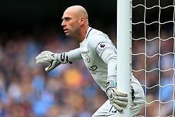 6th May 2017 - Premier League - Manchester City v Crystal Palace - Man City goalkeeper Wilfredo Caballero - Photo: Simon Stacpoole / Offside.