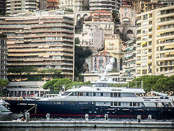 September 24, 2016 - Monaco, Monaco - Monaco prepares for the 26th Monaco Yacht Show with some 125 of the most desirable superyachts from around the world on display between 28 September and 1 October. The Monaco Yacht Show is held in Port Hercules, and is Europe's biggest in-water display of superyachts. (Credit Image: © Hugh Peterswald/Pacific Press via ZUMA Wire)