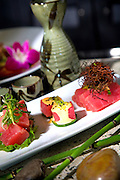 Fresh Tuna Sushi At Hopa J's Restaurant