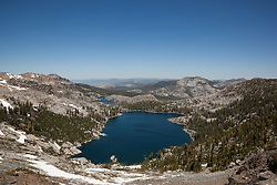 """Dicks Lake"" - Photograph of Dicks Lake in the Tahoe Desolation Wilderness."
