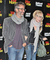 LONDON - October 25: David Baddiel & Morwenna Banks at the War Horse 5th Anniversary Performance (Photo by Brett D. Cove)