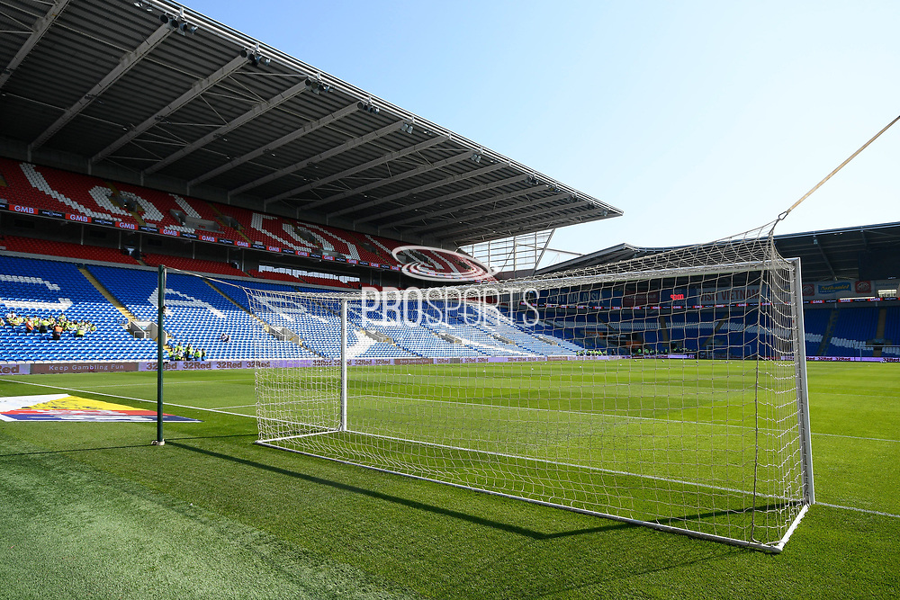 General view inside the Cardiff City Stadium ahead of the EFL Sky Bet Championship match between Cardiff City and Middlesbrough at the Cardiff City Stadium, Cardiff, Wales on 21 September 2019.