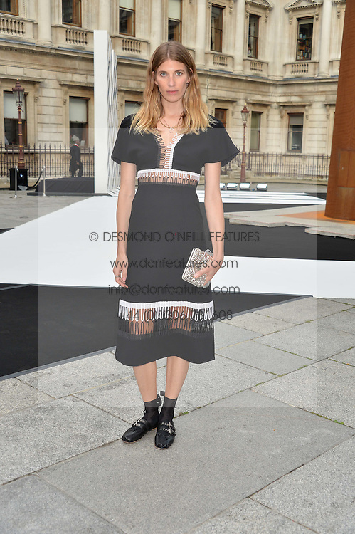 VERONIKA HEILBRUNNER at the Royal Academy of Arts Summer Exhibition Preview Party at The Royal Academy of Arts, Burlington House, Piccadilly, London on 7th June 2016.