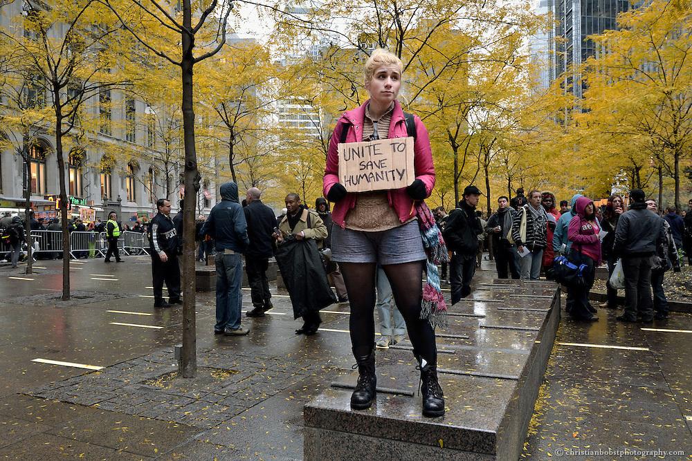 17. November 2011,  Zucotti Park NY