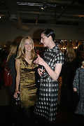 DONNA AIR AND ERIN O'CONNOR, Book launch for ÔThe Measure' edited by Louise Clarke.  commissioned by the London College of Fashion. Bluebird. King's Rd. London. 21 November 2007. -DO NOT ARCHIVE-© Copyright Photograph by Dafydd Jones. 248 Clapham Rd. London SW9 0PZ. Tel 0207 820 0771. www.dafjones.com.