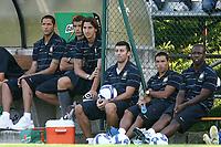 Materazzi, Stankovic, Ibrahimovic, Samuel , Cordoba, Rivas<br /> 27/7/2008 Brunico<br /> <br /> Inter Bari Friendly Match<br /> <br /> Foto Insidefoto