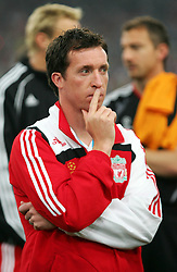 Athens, Greece - Wednesday, May 23, 2007: Liverpool's Robbie Fowler looks dejected after losing 2-1 to AC Milan during the UEFA Champions League Final at the OACA Spyro Louis Olympic Stadium. (Pic by David Rawcliffe/Propaganda)