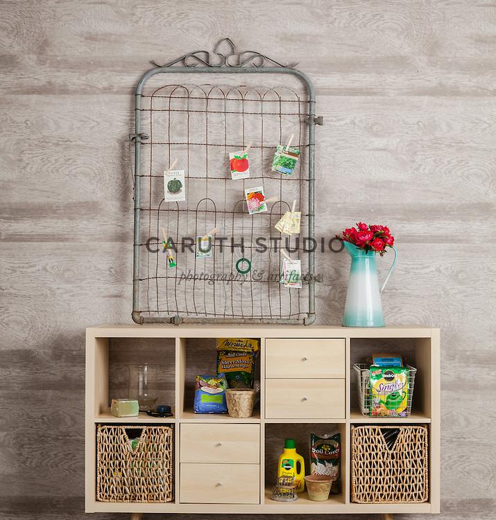 IKEA's Kallax shelf unit repurposed