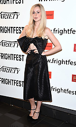 Diana Vickers and Rupert Hill attend Awaiting film screening as part of Film 4 frightfest at Vue West End, Leicester Square, London on Monday 31 August 2015