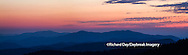 66745-046.04 Sunset at Clingmans Dome Great Smoky Mountains NP, TN