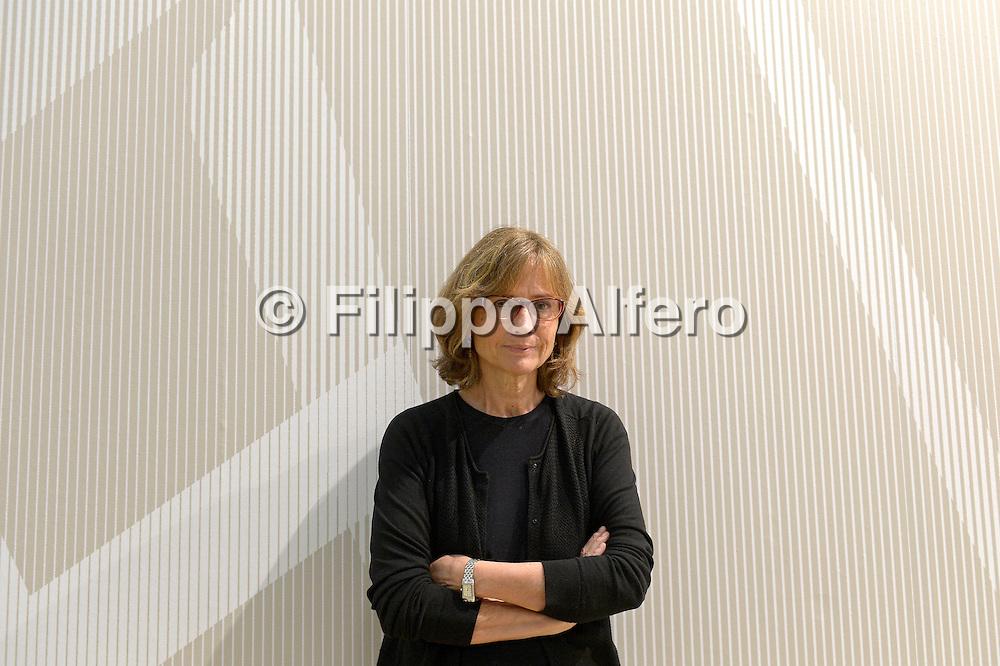 &copy; Filippo Alfero<br /> Salone Internazionale del Libro 2013<br /> Torino, 19/05/2013<br /> Nella foto: Cristina Comencini
