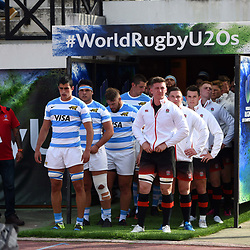 Players of Argentina and England during the World Championship U 20 match between England and Argentina on May 30, 2018 in Narbonne, France. (Photo by Alexandre Dimou/Icon Sport)