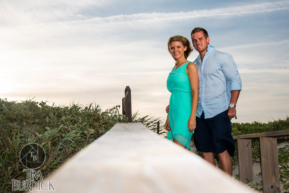 Couples portrait session by Tim Burdick Photography in Port Aransas, Texas