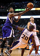 NBA: Sacramento Kings at Phoenix Suns//20121217