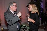 DANIEL JOHNSON; LISA HILTON, Leonie Frieda book party  for ' The Deadly Sisterhood.' The Orangery, Kensington Palace. London. 20 November 2012.