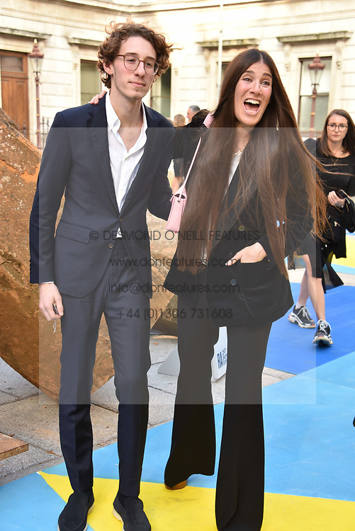 Elizabeth Saltzman and Harry Walker at the Royal Academy Of Arts Summer Exhibition Preview Party 2018 held at The Royal Academy, Burlington House, Piccadilly, London, England. 06 June 2018.
