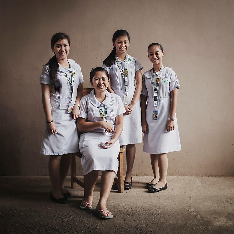 manila, community development, philippines, informal settlement, student nurses, developing country, s.e. asia