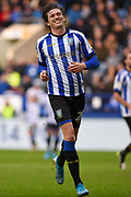 Adam Reach of Sheffield Wednesday smiles as a promising ball falls narrowly out of play during the EFL Sky Bet Championship match between Sheffield Wednesday and Bristol City at Hillsborough, Sheffield, England on 22 December 2019.