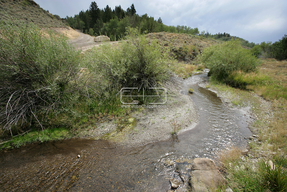 16th August 2007. Newdale, Idaho. The Lazy Triple Creek Ranch. Where Madonna and Guy Ritchie's former gamekeeper Martin Taylor now works...PHOTO © JOHN CHAPPLE / REBEL IMAGES.tel 310 570 9100.john@chapple.biz.www.chapple.biz..
