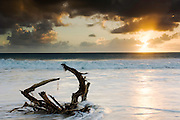 BARBUDA Island<br /> Sunset on a beach