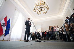 24.04.2019, Bundeskanzleramt, Wien, AUT, Bundesregierung, Sitzung des Ministerrats, im Bild Innenminister Herbert Kickl (FPÖ) // Austrian Minister for the Interior Herbert Kickl before cabinet meeting at federal chancellors office in Vienna, Austria on 2019/04/24 EXPA Pictures © 2019, PhotoCredit: EXPA/ Michael Gruber