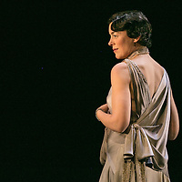 Waste by Harley Granvelle Barker;<br /> Directed by Roger Michell;<br /> Olivia Williams as Amy O'Connell;<br /> Lyttelton Theatre, National Theatre, London, UK;<br /> 9 November 2015
