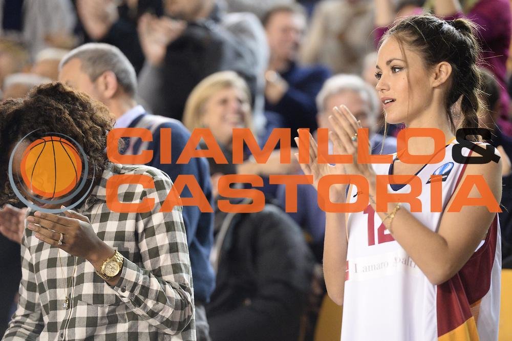 DESCRIZIONE : Roma Lega A 2014-15 Acea Virtus Roma Orlandina Basket<br /> GIOCATORE : <br /> CATEGORIA : tifosi<br /> SQUADRA : Acea Virtus Roma Orlandina Basket<br /> EVENTO : Campionato Lega Serie A 2014-2015<br /> GARA : Acea Virtus Roma Orlandina Basket<br /> DATA : 08.02.2015<br /> SPORT : Pallacanestro <br /> AUTORE : Agenzia Ciamillo-Castoria/M.Greco<br /> Galleria : Lega Basket A 2014-2015 <br /> Fotonotizia : Roma Lega A 2014-15 Acea Virtus Roma Orlandina Basket