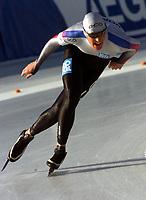 Skøyter: Innsbruck. 2001-11-18. Verdenscup 5000 m men.<br />Øystein Grødum.<br /><br />Foto: Calle Törnström, Digitalsport