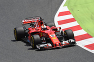 Sebastian Vettel of Scuderia Ferrari during the Spanish Formula One Grand Prix at Circuit de Catalunya, Barcelona<br /> Picture by EXPA Pictures/Focus Images Ltd 07814482222<br /> 14/05/2017<br /> *** UK &amp; IRELAND ONLY ***<br /> <br /> EXPA-EIB-170514-0103.jpg