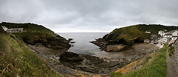A general view of Porthole, Cornwall <br />*EDITORS NOTE COMPOSITE IMAGE*