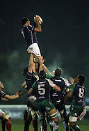 Chris Walker collects this line-out during the British &amp; Irish Cup match between London Scottish &amp; Connacht Eagles at Richmond, Greater London on Friday 29th November 2014<br /> <br /> Photo: Ken Sparks | UK Sports Pics Ltd<br /> London Scottish v Connacht Eagles, British &amp; Irish Cup,29th November 2014<br /> <br /> &copy; UK Sports Pics Ltd. FA Accredited. Football League Licence No:  FL14/15/P5700.Football Conference Licence No: PCONF 051/14 Tel +44(0)7968 045353. email ken@uksportspics.co.uk, 7 Leslie Park Road, East Croydon, Surrey CR0 6TN. Credit UK Sports Pics Ltd