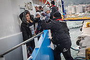 Refugees arrive on Lesvos, 06.03.16