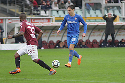 March 18, 2018 - Turin, Piedmont, Italy - Federico Chiesa (ACF Fiorentina) during the Serie A football match between Torino FC and ACF Fiorentina at Olympic Grande Torino Stadium on 18 March, 2018 in Turin, Italy. Final results: 1-2  (Credit Image: © Massimiliano Ferraro/NurPhoto via ZUMA Press)