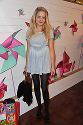 LADY ELOISE ANSON at a party to celebrate the launch of the Lucy in Disguise Ready to Wear collection exclusive to Harvey Nichols, held at The Fifth Floor Restaurant, Harvey Nichols, Knightsbridge, London on 25th May 2011.