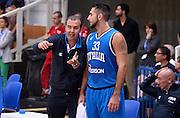 DESCRIZIONE : Trento Trentino Basket Cup Italia - Belgio<br /> GIOCATORE : Pietro Aradori Simone Pianigiani<br /> CATEGORIA : nazionale maschile senior A<br /> GARA : Trento Trentino Basket Cup Italia - Belgio<br /> DATA : 12/07/2014<br /> AUTORE : Agenzia Ciamillo-Castoria