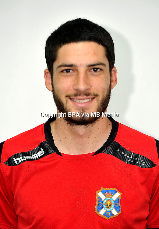 Spain - La Liga Adelante 2014-2015 / <br /> ( Club Deportivo Tenerife ) - <br /> Daniel Hernandez Acosta