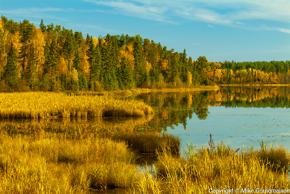 Autumn on Andy Lake<br />