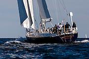 Metolius sailing in the Newport Bermuda Race.
