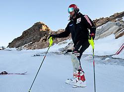 04.11.2011, Moelltaler Gletscher, Flattach, AUT, DSV Medientag, im Bild Natko Zrncic-Dim Croatisches Ski Team beim warm-up  // During media day of German Ski Federation DSV at Moelltaler glacier in Flattach, Carinthia, Austria on 4/10/2011. EXPA Pictures © 2011, PhotoCredit: EXPA/ J. Groder
