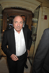 BORIS BEREZOVSKY at a reception to celebrate the launch of Prince Dimitri of Yugoslavia's one-of-a-kind jeweleery collection held at Partridge Fine Art, 144-146 New Bond Street, London on 11th June 2008.<br />