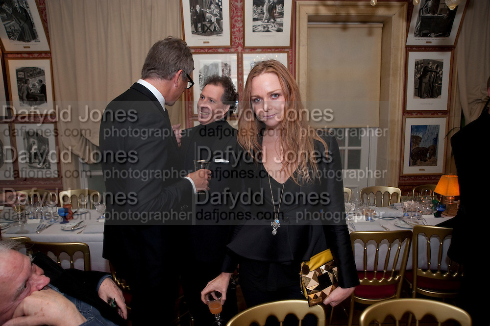 JAY JOPLING; VISCOUNT LINLEY; STELLA MCCARTNEY, Graydon Carter hosts a diner for Tom Ford to celebrate the London premiere of ' A Single Man' Harry's Bar. South Audley St. London. 1 February 2010