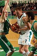 DESCRIZIONE : Treviso Eurolega 2006-07 Benetton Treviso Pau Orthez <br /> GIOCATORE : Johnsen <br /> SQUADRA : Pau Orthez <br /> EVENTO : Eurolega 2006-2007 <br /> GARA : Benetton Treviso Pau Orthez <br /> DATA : 24/01/2007 <br /> CATEGORIA : Penetrazione  <br /> SPORT : Pallacanestro <br /> AUTORE : Agenzia Ciamillo-Castoria/M.Marchi <br /> Galleria : Eurolega 2006-2007 <br /> Fotonotizia : Treviso Eurolega 2006-2007 Benetton Treviso Pau Orthez <br /> Predefinita :