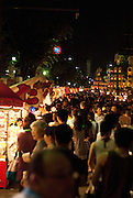 The annual Kuwana City Ishidori (Stone-brining festival) held in summer.