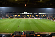 General view of Meadow Lane during the The FA Cup match between Notts County and Bristol Rovers at Meadow Lane, Nottingham, England on 3 November 2017. Photo by Jon Hobley.