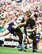Tetley Bitter Cup S  Bath v Wasps  semi-fina,l Madejeski Stadium, Reading, Josh Lewsey [Mandatory Credit Peter Spurrier:Intersport Images]