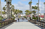 Balboa Peninsula Park and Pier Newport Beach California