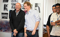Auckland-Prince Harry visits TYLA (turn your life around)
