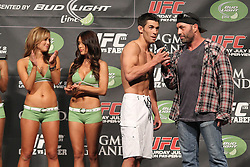 July 1, 2011; Weigh-In's for UFC 132 at the MGM Grand Garden Arena in Las Vegas.